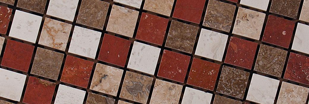Slide - Mosaico in marmo linea classica quadrati